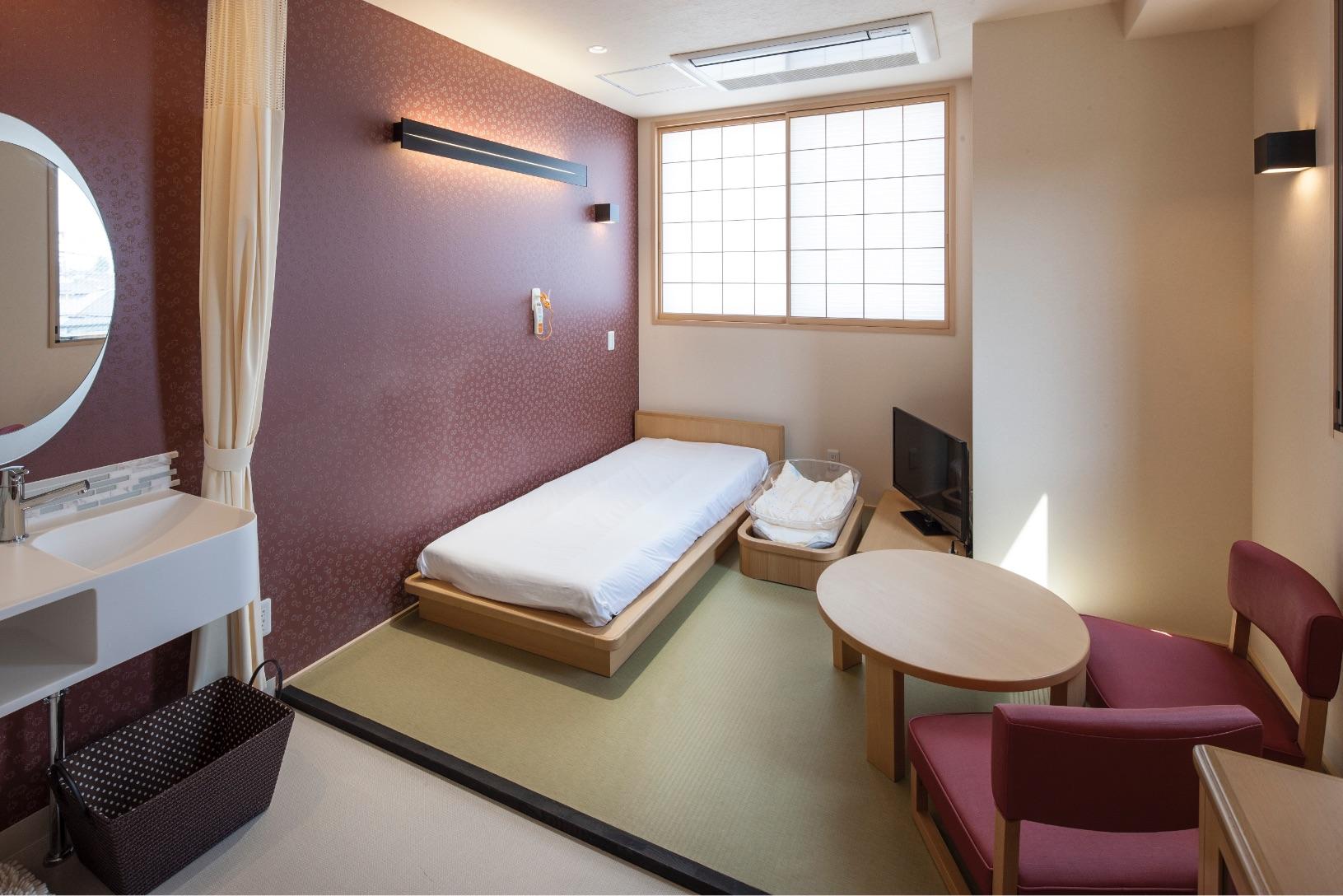 一般病室(和室)の室内