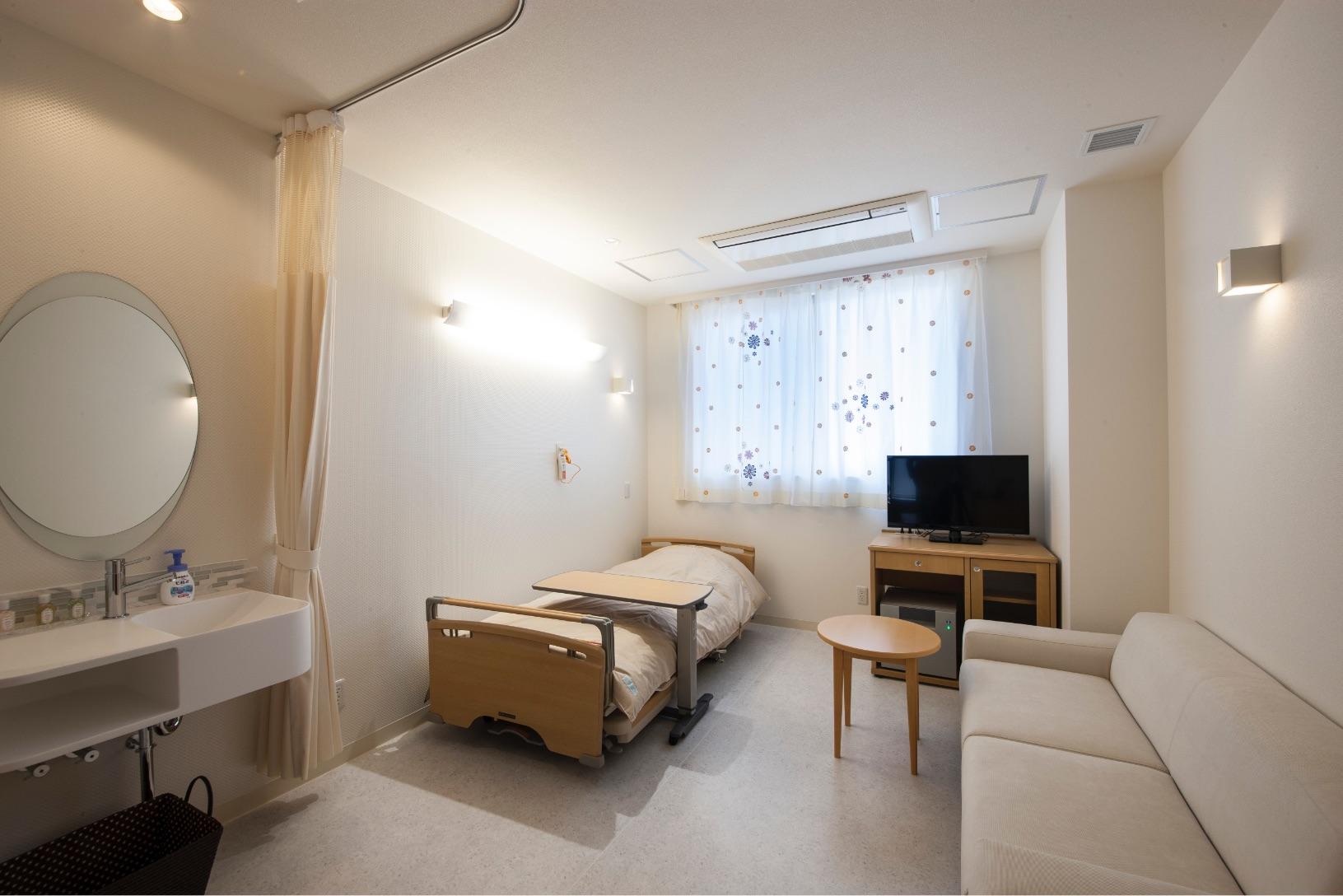 一般病室の室内